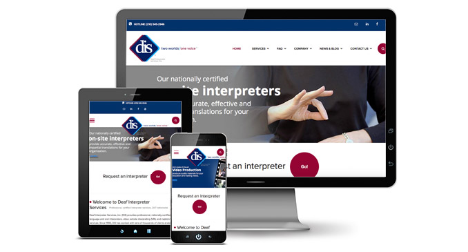 deaf interpreter website