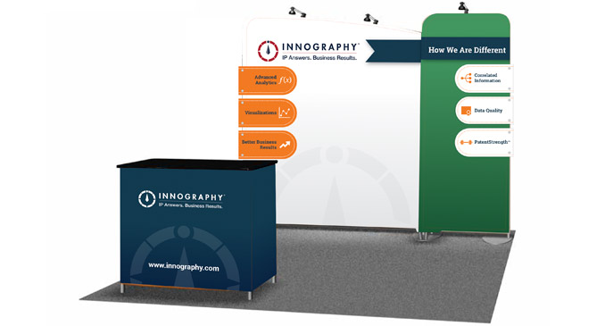 Trade show booth design and production
